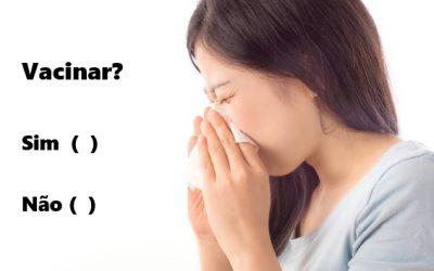 Preciso tomar a vacina contra a gripe?