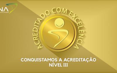ONA certifica Hospitalar ATS Acreditado Excelência – Única empresa de Atenção Domiciliar no Sul do País.